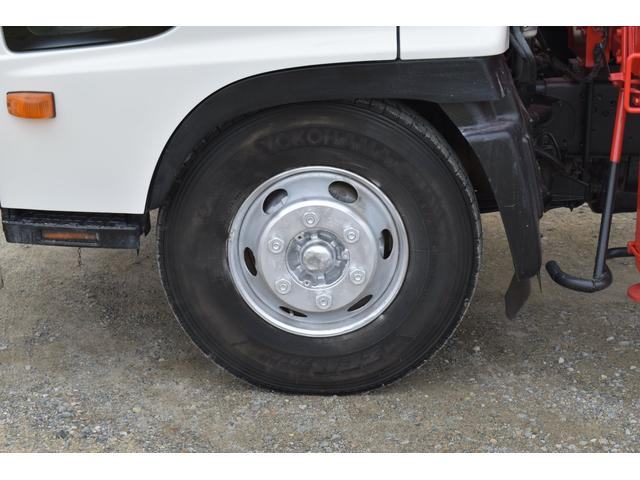 ベースグレード 古河4段ユニック ラジコン フックイン メッキバンパー メッキコーナーパネル メッキグリル メッキミラーカバー UNIC 2010年式 2.93吊 荷台寸法・内寸540.211 ETC AT車両(48枚目)