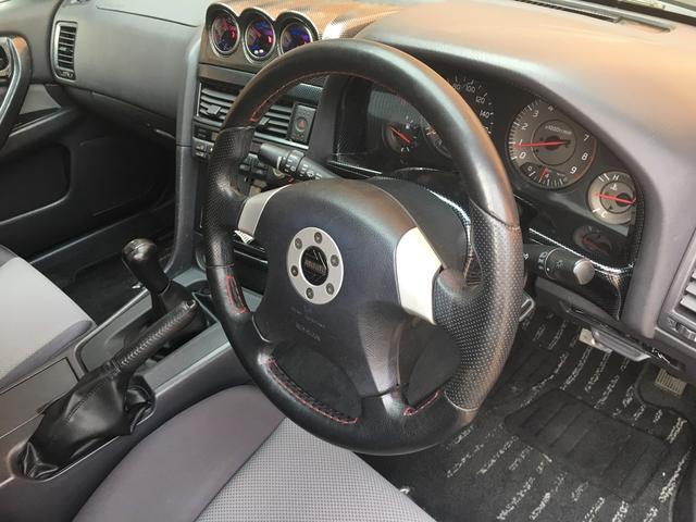 日産 スカイライン 25GTターボ 5速MT クスコ車高調 外品インタークーラー
