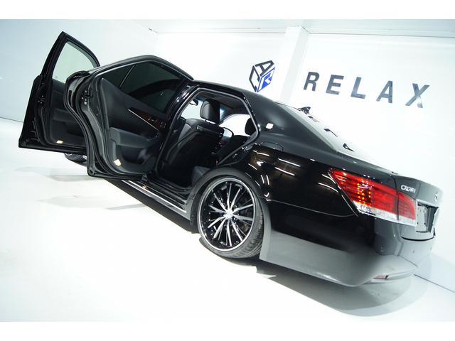 トヨタ クラウンマジェスタ Fバージョン本革 全国1年保証付き 新品車高調新品20アルミ