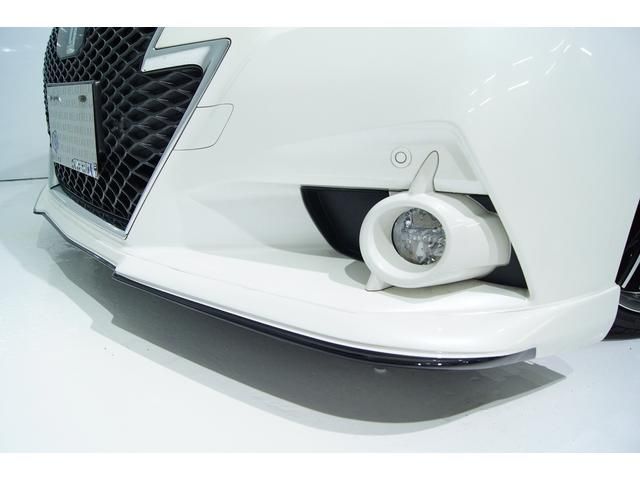 トヨタ クラウンハイブリッド アスリートS VACANCESエアロ 本革 新品アルミ車高調