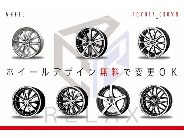 トヨタ クラウンハイブリッド Gパッケージ全国1年保証 本革 新品アルミ 新品車高調