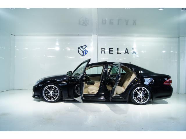 トヨタ クラウンハイブリッド Gパッケージ本革サンルーフ1年保証新品テイン車高調新品アルミ