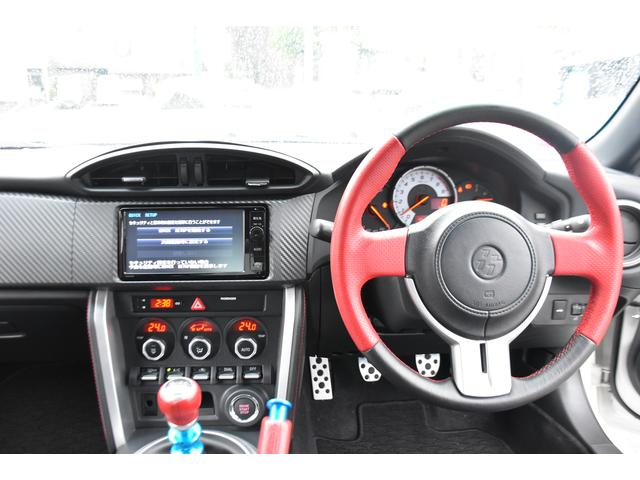 トヨタ 86 GTエアロパッケージFT 純正ナビTV 18インチAW エア