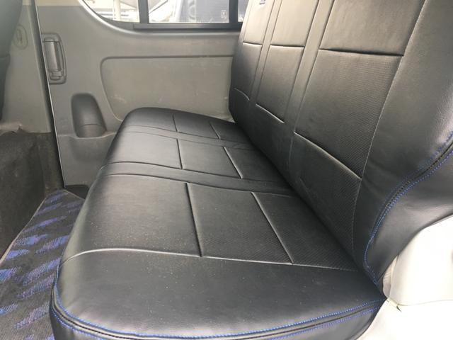 トヨタ ハイエースバン ロングスーパーGL 4型仕様 ディーゼルターボ TDRシート