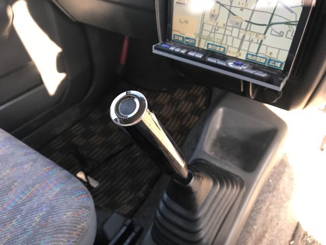 スズキ ジムニー XC ターボ 4WD 5速ミッション リフトアップ 社外AW