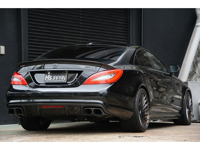 CLS63 AMG S AMSチューニング カーボンブレーキ(2枚目)