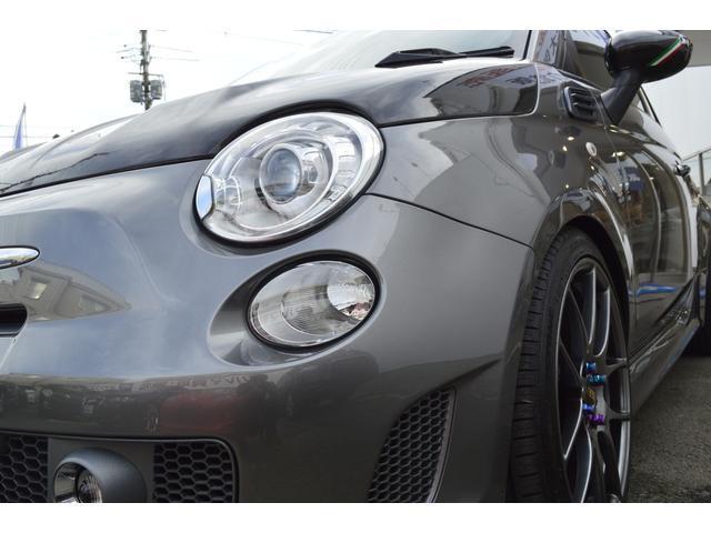 アバルト アバルト アバルト595 ツーリズモ BBS17AW 車高調 レカロシート 禁煙