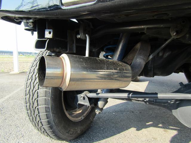 スズキ ジムニー ワイルドウインド 4WD リフトアップ 外マフラー