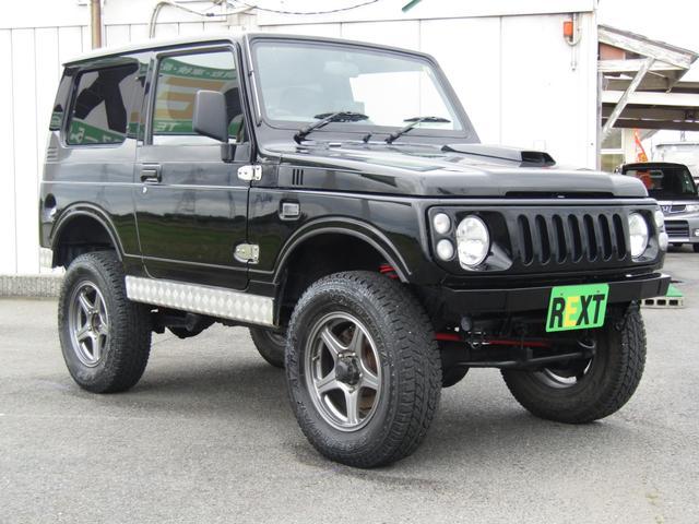 ワイルドウインド 4WD スムージング マフラー 革調シート(3枚目)