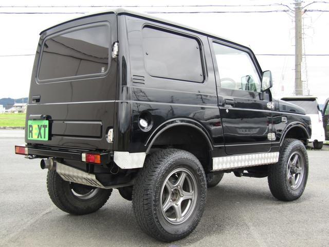 ワイルドウインド 4WD スムージング マフラー 革調シート(4枚目)