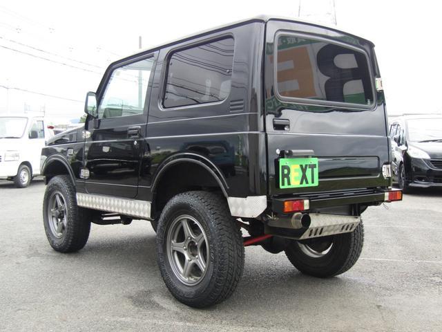 ワイルドウインド 4WD スムージング マフラー 革調シート(6枚目)