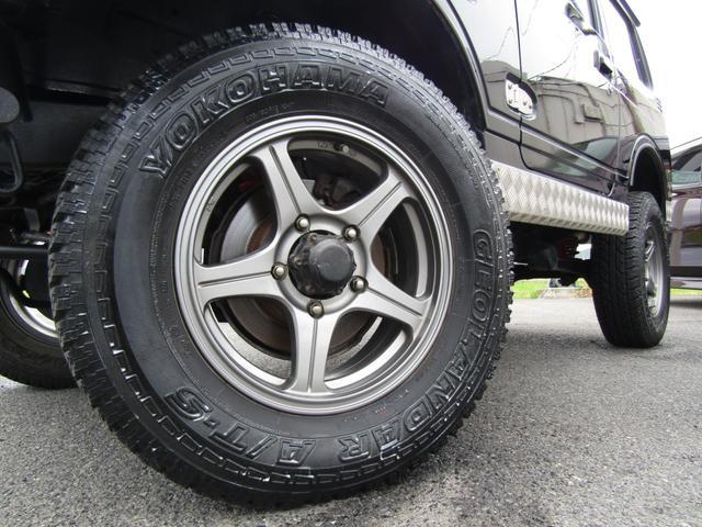 ワイルドウインド 4WD スムージング マフラー 革調シート(8枚目)