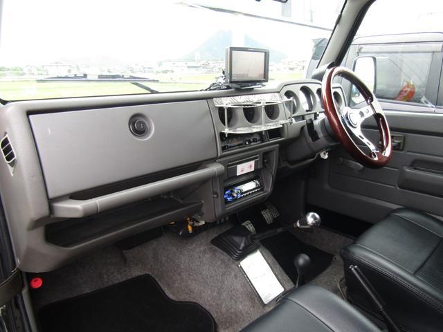 ワイルドウインド 4WD スムージング マフラー 革調シート(18枚目)