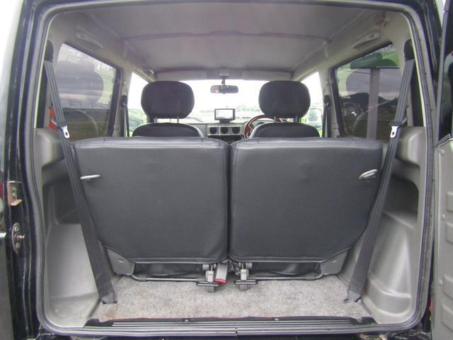 ワイルドウインド 4WD スムージング マフラー 革調シート(20枚目)