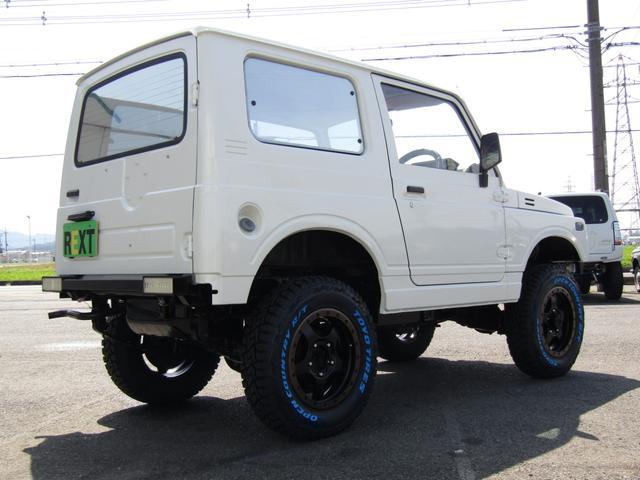 HC 4WD 5MT ワンオーナー リフトアップ公認 全塗装(4枚目)