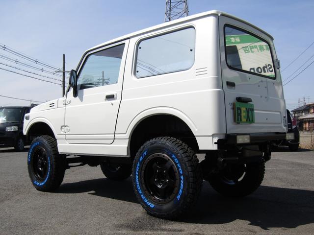 HC 4WD 5MT ワンオーナー リフトアップ公認 全塗装(6枚目)