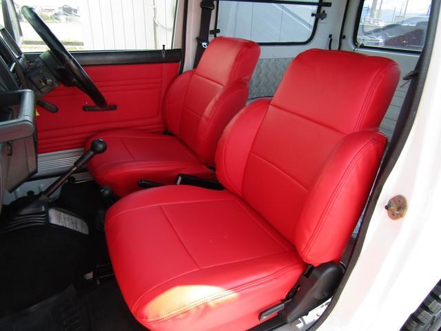 HC 4WD 5MT ワンオーナー リフトアップ公認 全塗装(12枚目)