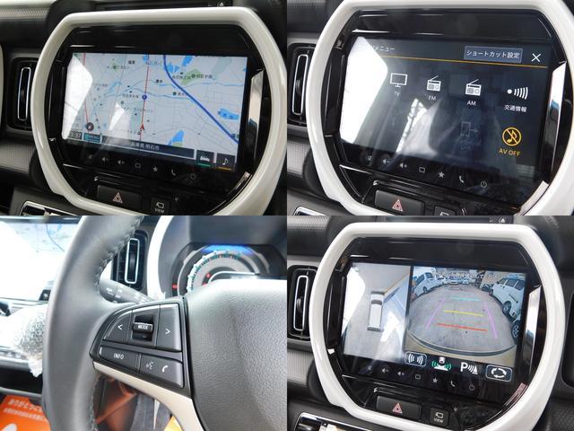 ハイブリッドX 全方位モニター付き9インチナビ装着車 デカール ETC アイドリングストップ プッシュスタート 自社オリジナルマット&バイザー付き(11枚目)