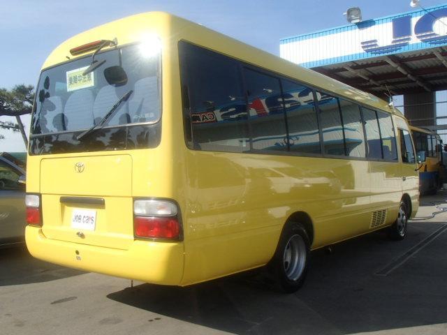 トヨタ コースター マイクロバス ロングGX28人乗 電動スイングドア 冷蔵庫