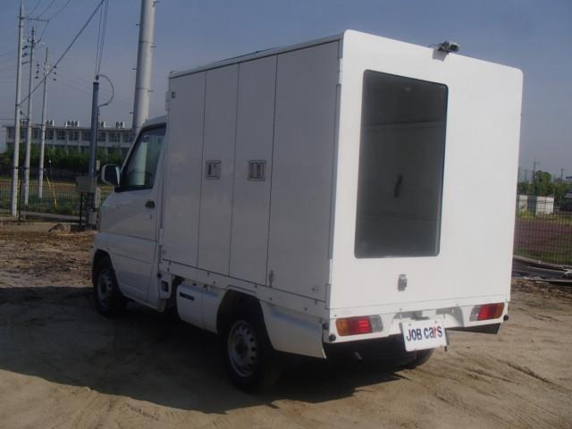 販売車 パネルバン AT 折戸 跳上 バックカメラ 4WD(7枚目)