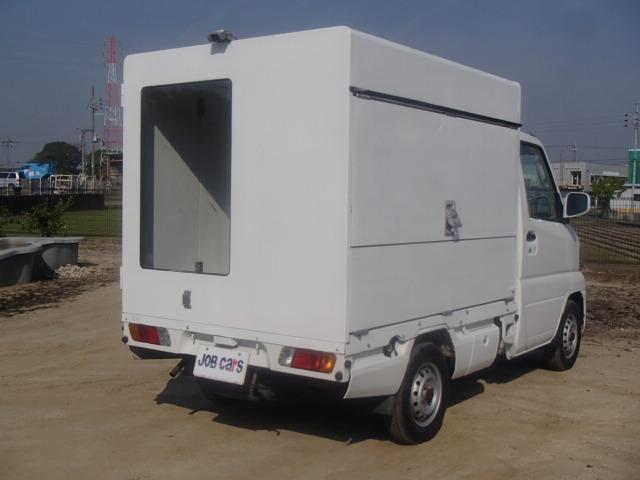 販売車 パネルバン AT 折戸 跳上 バックカメラ 4WD(9枚目)