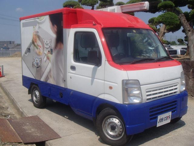 移動販売車 3室式 サブバッテリー オーニング 外部電源(3枚目)