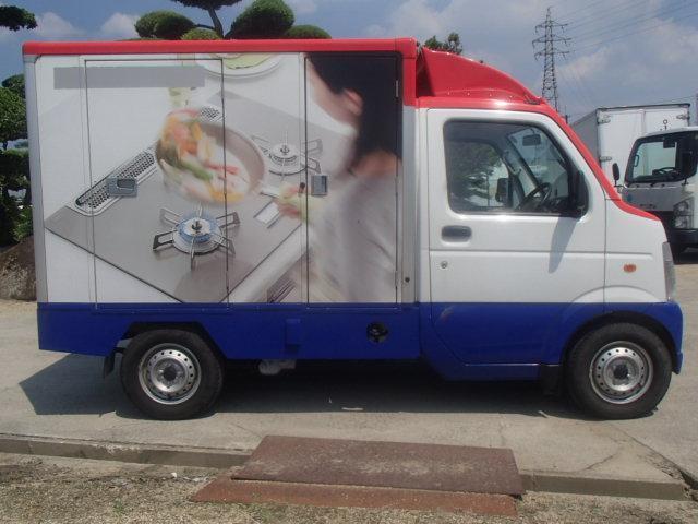 移動販売車 3室式 サブバッテリー オーニング 外部電源(9枚目)