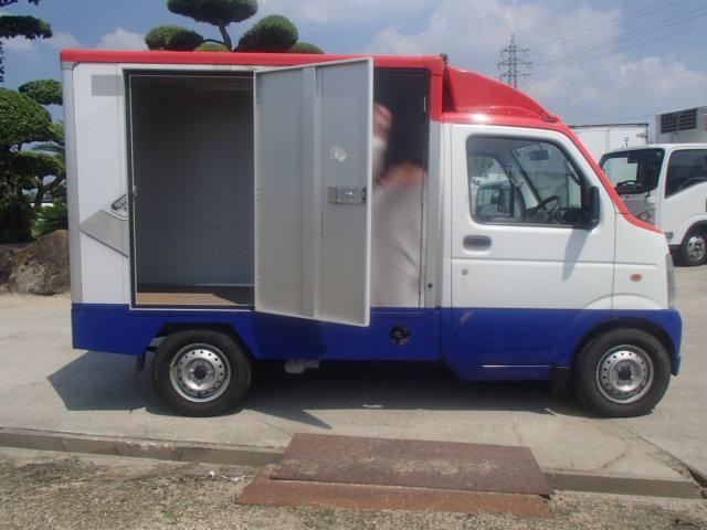 移動販売車 3室式 サブバッテリー オーニング 外部電源(10枚目)