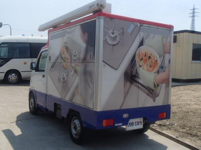 移動販売車 3室式 サブバッテリー オーニング 外部電源(13枚目)