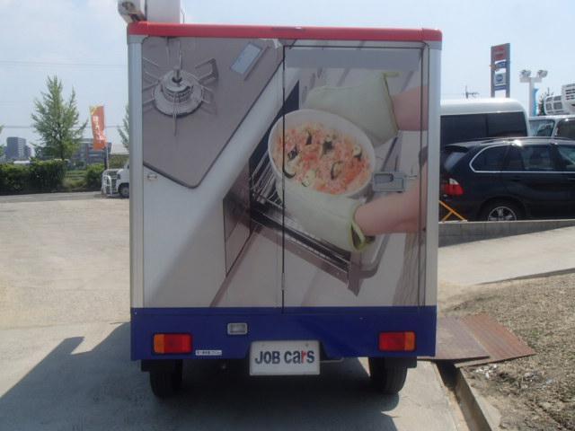 移動販売車 3室式 サブバッテリー オーニング 外部電源(14枚目)