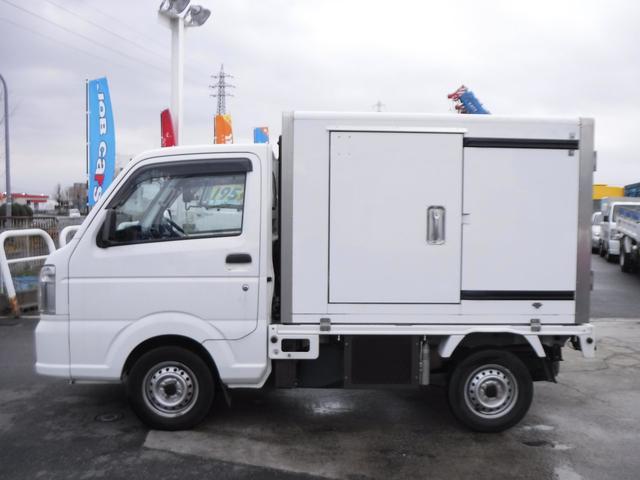 冷蔵冷凍車 中温 -5℃ AT スライドドア 観音扉(4枚目)