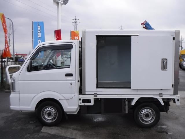冷蔵冷凍車 中温 -5℃ AT スライドドア 観音扉(5枚目)