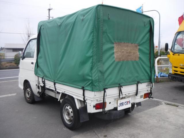 移動販売車 幌付 焼き芋仕様 窯 照明付 AT パワステ(6枚目)