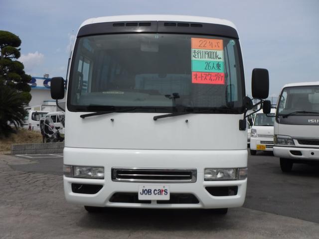 マイクロバス 小型送迎26人SX オートスイングドア 軽油(2枚目)