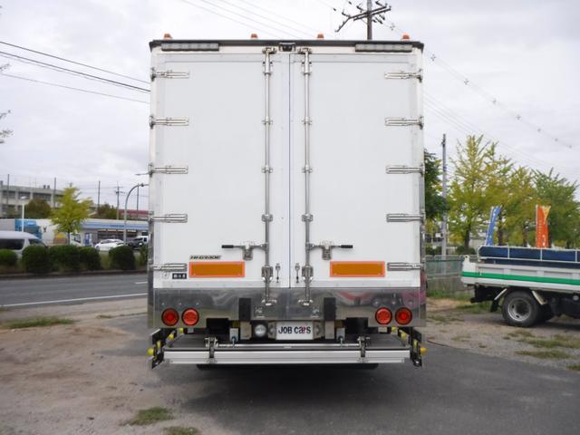 冷蔵冷凍車 低温-30℃設定 62ワイドベッド付 格納ゲート(8枚目)
