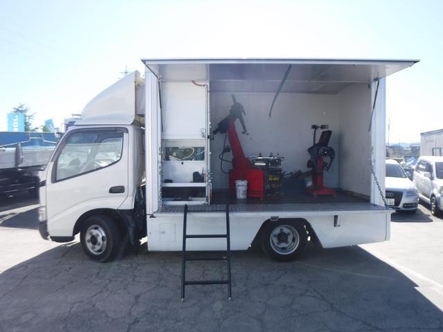 移動販売車ベース車両 工作車 8ナンバー 発電機(2枚目)