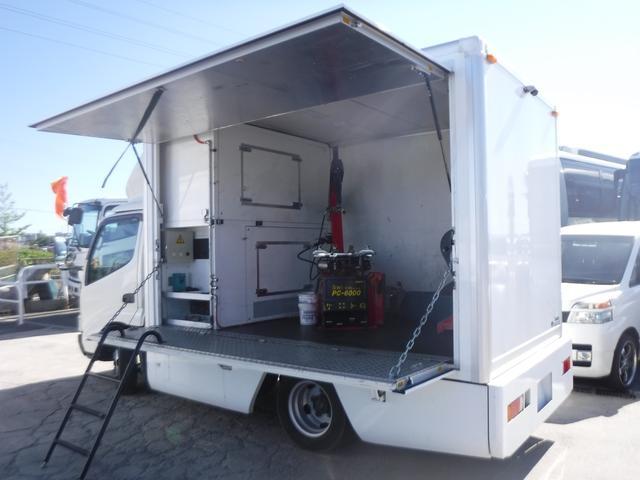 移動販売車ベース車両 工作車 8ナンバー 発電機(3枚目)