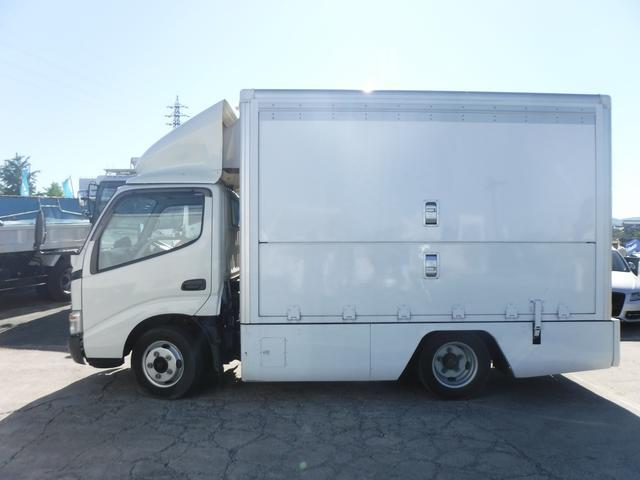 移動販売車ベース車両 工作車 8ナンバー 発電機(4枚目)