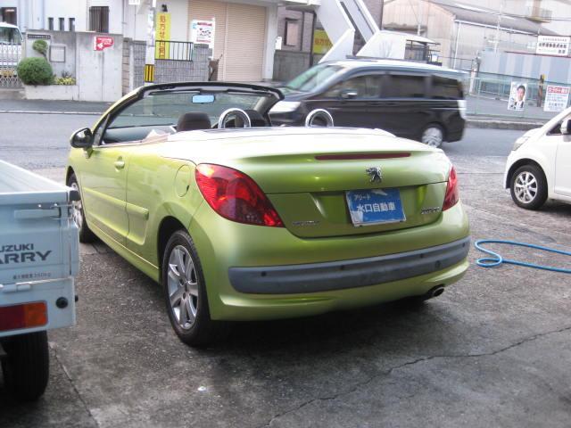「プジョー」「プジョー 207」「オープンカー」「大阪府」の中古車5