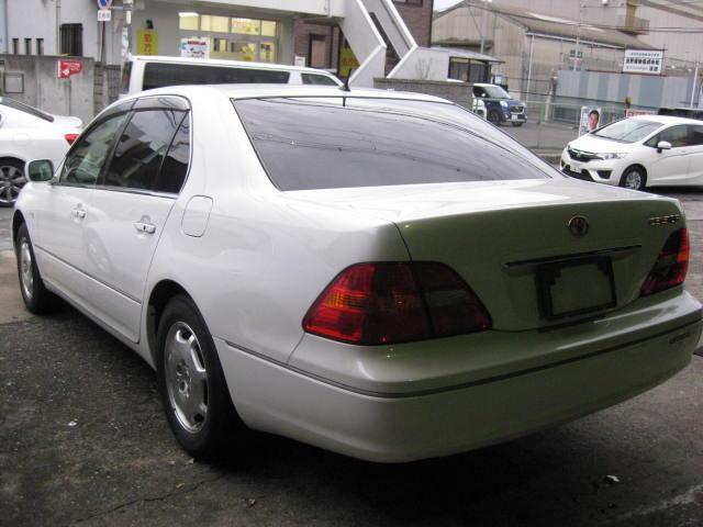 「トヨタ」「セルシオ」「セダン」「大阪府」の中古車4
