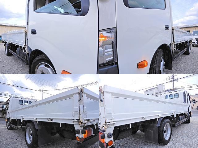 ロング ワイド 型式XZU710 積載2t 荷台寸法木製436cm188cm38cm Wタイヤ フルジャストロー MT6速 法人ワンオーナー 点検整備記録付き ETC ディーゼルターボ軽油 普通貨物1ナンバー(28枚目)