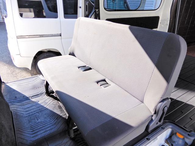 ロングDX 荷台新品マット グー鑑定済み 両側スライド5D 6人乗り Tチェーン式 小型貨物4ナンバー キーレス ETC オートマ ガソリン車 内外装クリーニング済み 全国納車OK(11枚目)