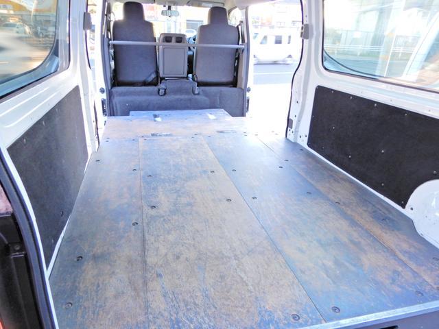 ロングDX H27年12月登録車 両側スライド5D Tチェーン キーレス ETC オートマAT 乗車定員3人乗り 荷台純正木板 小型貨物4ナンバー 内外装荷台クリーニング済み(6枚目)