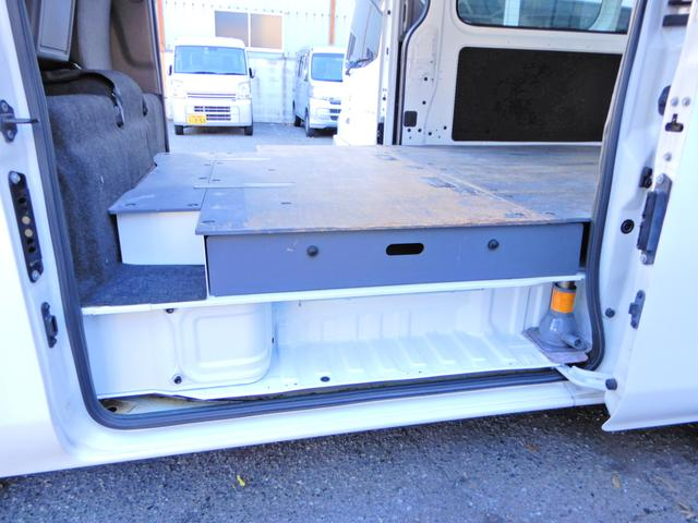 ロングDX H27年12月登録車 両側スライド5D Tチェーン キーレス ETC オートマAT 乗車定員3人乗り 荷台純正木板 小型貨物4ナンバー 内外装荷台クリーニング済み(9枚目)