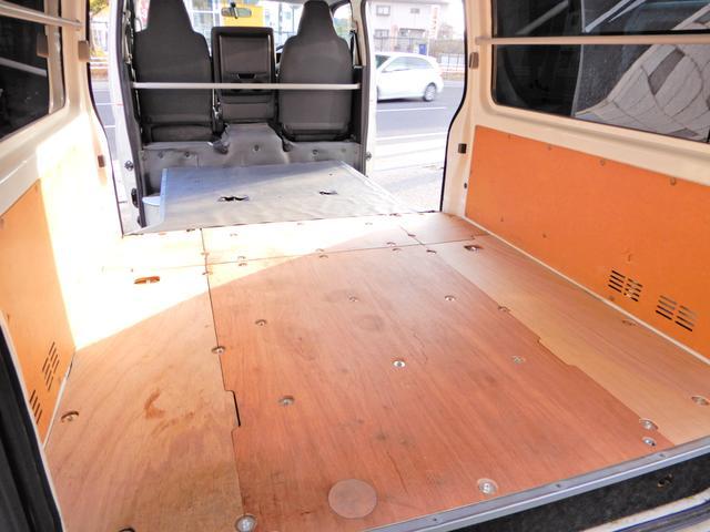 ロングDX H26年12月登録車 法人ワンオーナー 点検整備記録簿付き 両側スライド5D 小窓付き スモークフィルム 荷台木板 乗車定員3人乗り 外装ポリィッシャー磨き済み 内装荷台クリーニング済 キーレス 鑑定(5枚目)