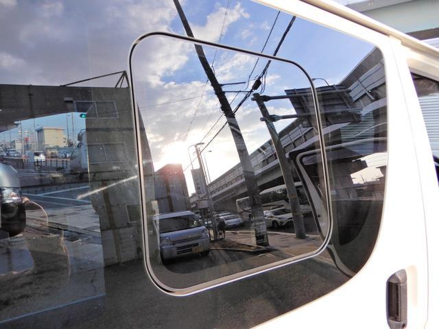 ロングDX H26年12月登録車 法人ワンオーナー 点検整備記録簿付き 両側スライド5D 小窓付き スモークフィルム 荷台木板 乗車定員3人乗り 外装ポリィッシャー磨き済み 内装荷台クリーニング済 キーレス 鑑定(16枚目)