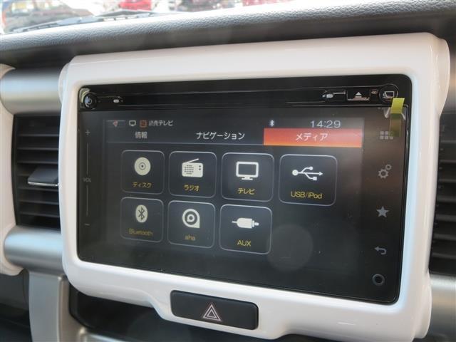 スズキ ハスラー X 全方位モニター付メモリーナビゲーション 届出済未使用車