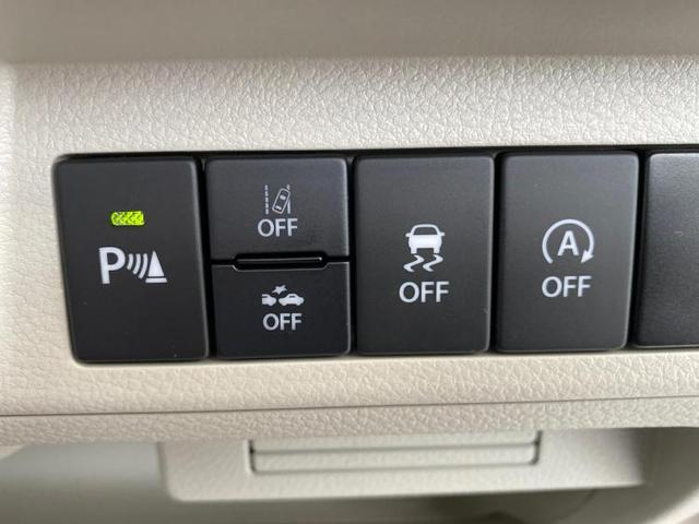 L プッシュスタート/セーフティサポート/EBD付ABS/横滑り防止装置/アイドリングストップ/エアバッグ 運転席/エアバッグ 助手席/パワーウインドウ/キーレスエントリー/シートヒーター 前席(9枚目)