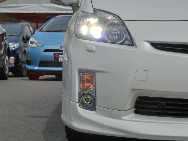 トヨタ プリウス SLED フルエアロ ローダウン 新品19アルミ 8型ナビ