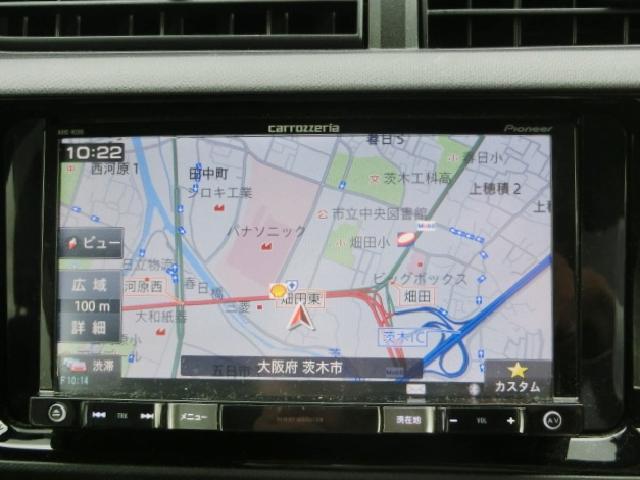 カロッツェリアメモリーナビ★CD再生・DVD再生・ワンセグ・Bluetooth・SDカード対応♪
